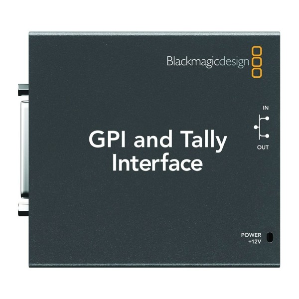 BLACKMAGIC DESIGN ATEM GPI and Tally Interface