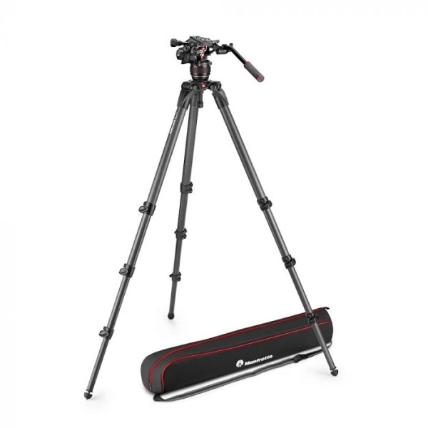 Manfrotto Nitrotech 608 & 536 Carbon Stativ