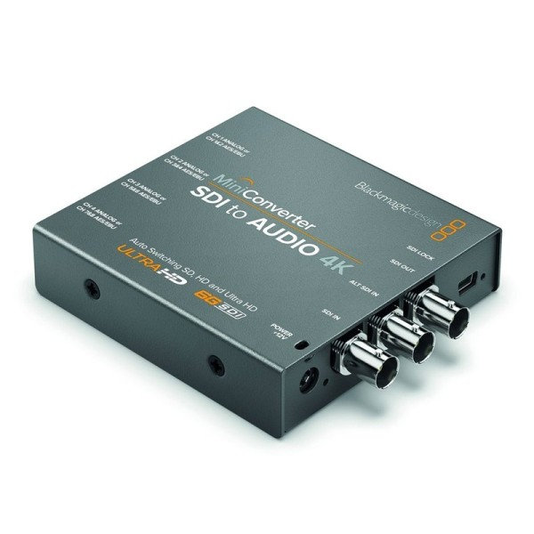 BLACKMAGIC DESIGN Mini Converter SDI-Audio 4K